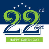Happy Earth Day. Royalty Free Stock Images