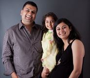 Happy East Indian Family Stock Images
