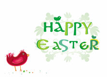 Happy Easter – logo Royalty Free Stock Photos