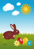 Happy Easter 01 Stock Image