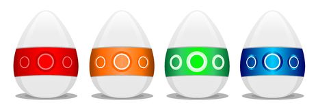 Happy Easter 1 stock images