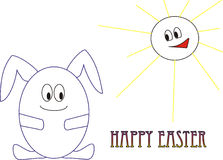 Happy Easter! royalty free stock photos