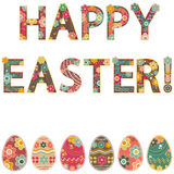 Happy easter! Stock Photography