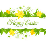 Happy Easter. Background, Vector Illustration Stock Photo