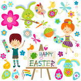 Happy easter! stock image