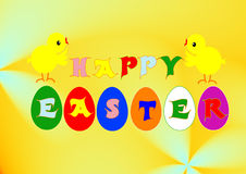 Happy easter Royalty Free Stock Photography