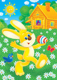 Happy Easter!. Illustration for your design, scrapbook and holiday card Stock Photography
