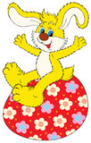 Happy Easter!. Vector clip-art / Easter illustration for your design, scrapbook and holiday card Royalty Free Stock Photography