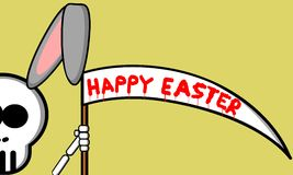 Happy Easter. An illustration of happy Easter Stock Image