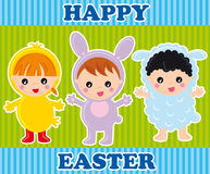 Happy easter Stock Photos