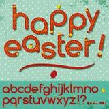 Happy Easter abc Stock Image