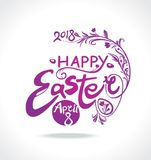 Happy Easter. 2018. April 8. Stock Photography