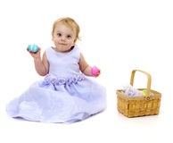 Happy Easter Baby Royalty Free Stock Photos
