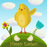 Happy easter background Royalty Free Stock Photos