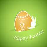 Happy Easter background stock illustration