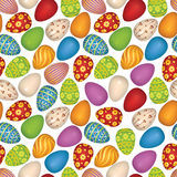 Happy easter background. Abstractl geometric Seamless Texture Stock Photography