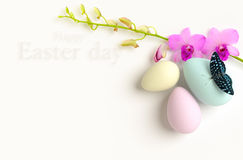 Happy Easter background. Royalty Free Stock Images