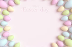 Happy Easter background. Stock Photo