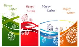 Happy Easter background collection Royalty Free Stock Image