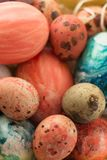 Happy Easter. easter background. colorful Easter eggs royalty free stock photos