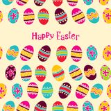Happy easter background. easter egg Royalty Free Stock Images