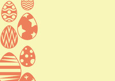 Happy easter background Stock Image