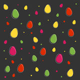 Happy Easter background. With egg, vector Royalty Free Stock Photo