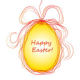Happy Easter Background with eggs Royalty Free Stock Images