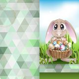 Happy Easter Background. Royalty Free Stock Photo