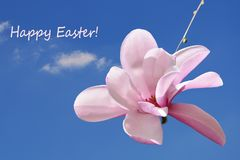 Happy Easter! Easter background, greeting card royalty free stock photography