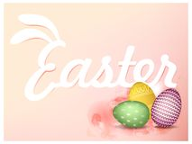 Happy Easter Background. Greetings card. vector illustration