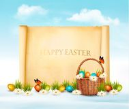 Happy Easter background. Royalty Free Stock Photos