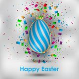 Happy Easter background. Happy Easter background for your invitations, festive posters, greetings cards Stock Photo