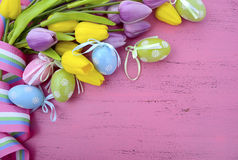 Happy Easter background Royalty Free Stock Photo