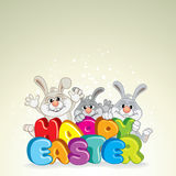 Happy Easter background. Stock Images