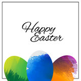Happy Easter Background.vector design royalty free stock photography