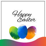 Happy Easter Background.vector design stock photo