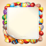Happy Easter Background Vector Stock Image