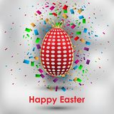 Happy Easter background. Happy Easter background for your invitations, festive posters, greetings cards Royalty Free Stock Photo