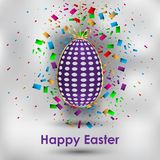 Happy Easter background. Happy Easter background for your invitations, festive posters, greetings cards Royalty Free Stock Images