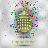 Happy Easter background. Happy Easter background for your invitations, festive posters, greetings cards Royalty Free Stock Photos