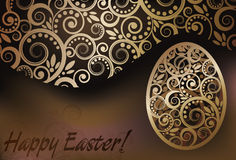 Happy Easter banner Royalty Free Stock Image
