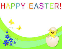 Happy Easter banner. Royalty Free Stock Image