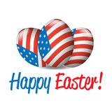 Happy Easter banner Royalty Free Stock Photography