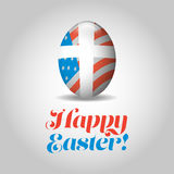 Happy Easter banner Stock Image