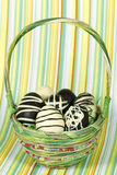 Happy easter basket Stock Photography