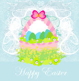 Happy easter border. Royalty Free Stock Image