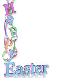 Happy Easter Border Stock Images