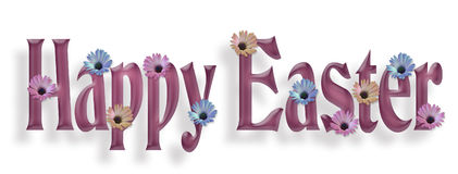 Happy Easter Border Graphic Royalty Free Stock Images
