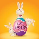 Happy Easter! Stock Photos